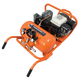 Industrial Air CWA5591016.4 Contractor 5.5 HP 10 Gallon Oil-Lube Chopper Wheelbarrow Air Compressor with Honda Engine