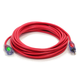 Century Wire D17447050 Pro Glo 15 Amp 12/3 AWG CGM SJTW Extension Cord - 50 ft. (Red)