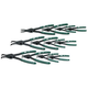 SK Hand Tool 7612 12-Piece Convertible Retaining Ring Pliers Set