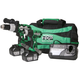 Hitachi KC18DDL HXP 18V Cordless Lithium-Ion 1/2 in. Drill Driver and Impact Driver Combo Kit