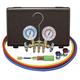 Mastercool 84661-UV Brass 2-Way Manifold Gauge Set, 60 in.