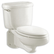 American Standard 2093.100.020 Glenwall Elongated 2-Piece Wall Mount Toilet (White)