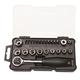Stanley STMT74867 24-Piece 1/4 in. SAE Drive Mechanics Wrench, Socket & Bit Set