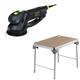 Festool C12500608 Rotex 6 in. Multi-Mode Sander plus MFT/3 Basic  Multi-Function Work Table