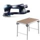 Festool C14500608 Rotex 3-1/2 in. Multi-Mode Sander plus MFT/3 Basic  Multi-Function Work Table