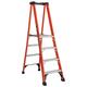 Louisville FXP1804HD 4 ft. Type IAA Duty Rating 375 lbs. Load Capacity Fiberglass Platform Step Ladder