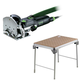 Festool C21500608 Domino Domino Mortise and Tenon Joiner Set plus MFT/3 Basic  Multi-Function Work Table
