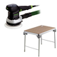 Festool C29500608 6 in. Random Orbital Finish Sander plus MFT/3 Basic  Multi-Function Work Table