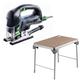Festool C5500608 Carvex D-Handle Jigsaw plus MFT/3 Basic  Multi-Function Work Table