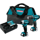 Makita CT226 CXT 12V Max Cordless Lithium-Ion 1/4 in. Impact Driver and 3/8 in. Drill Driver Combo Kit
