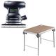 Festool C7500608 Orbital Finish Sander plus MFT/3 Basic  Multi-Function Work Table