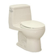 TOTO MS853113E-12 Eco UltraMax Round 1-Piece Floor Mount Toilet (Sedona Beige)
