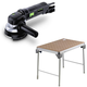 Festool C9500608 4-1/2 in. Rotary Sander plus MFT/3 Basic  Multi-Function Work Table