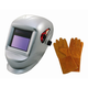 Astro Pneumatic 8077SE Deluxe Welding Helmet with FREE Gloves
