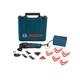Bosch MX25EK-33 2.5 Amp Multi-X Oscillating Tool Kit with 33 Accessories