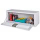 JOBOX 552980 47 in. Long Steel High Capacity Topside Truck Box (White)