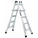 Louisville L-2095-17 17 ft. Type IA Duty Rating 300 lbs. Load Capacity Aluminum Multi-Purpose Ladder