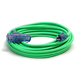 Century Wire D17224100 Pro Glo 15 Amp 12/3 AWG Triple Tap CGM Extension Cord - 100 ft. (Green)