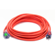 Century Wire D17442100 Pro Glo 15 Amp 12/3 AWG CGM SJTW Extension Cord - 100 ft. (Orange)