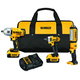 Dewalt DCK398HM2 20V MAX 4.0 Ah Cordless Lithium-Ion 3-Tool Combo Kit