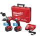 Milwaukee 2795-22 M18 FUEL 18V 5.0 Ah Cordless Lithium-Ion 2-Tool ONE-KEY Combo Kit