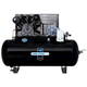 Industrial Air IH9919910 230V 10 HP 120 Gallon Oil-Lube Horizontal Air Compressor with Aosmith Motor