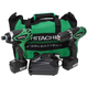 Hitachi KC10DFL HXP 12V Peak Cordless Lithium-Ion 3/8 in. Drill Driver and Impact Driver Combo Kit