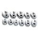 SK Hand Tool 4511 11-Piece 3/8 in. Drive Metric Flare Nut Crowfoot Wrench Set