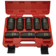 ATD 8628 8-Piece 1/2 in. 12-Point Metric Axle/Spindle Nut Socket Set