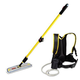 Rubbermaid Q979 Flow Finishing System with 18 in. Mop Head & 56 in. Handle