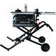 Porter-Cable PCB222TS 15 Amp 10 in. JobSite Table Saw with Fold and Roll Stand