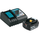 Makita BL1850BDC1 18V LXT 5 Ah Lithium-Ion Compact Battery and Rapid Charger Kit