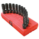 Sunex Tools 3678 13-Piece 3/8 in. Drive 12 Point Metric Universal Deep Impact Socket Set