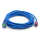 Century Wire D17006100 Pro Glo 15 Amp 10/3 AWG CGM SJTW Extension Cord - 100 ft. (Blue)