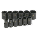 SK Hand Tool 4062 12-Piece 3/8 in. Drive 6-Point Standard Metric Impact Socket Set