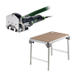 Festool C15500608 Domino Mortise and Tenon Joiner plus MFT/3 Basic  Multi-Function Work Table
