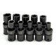 SK Hand Tool 34351 10-Piece 1/2 in. Drive 6-Point Swivel Metric Impact Socket Set