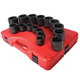 Sunex 2690 16-Piece 1/2 in. Drive SAE Impact Socket Set