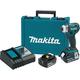 Makita XDT09MB LXT 18V 4.0 Ah Cordless Lithium-Ion Brushless Quick-Shift 3-Speed Impact Driver Kit