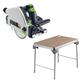 Festool C24500608 Plunge Cut Circular Saw plus MFT/3 Basic  Multi-Function Work Table