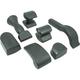 Dent Fix Equipment DF-AB711 7 -Piece Rubber Dolly Set / Alum.