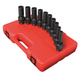 Sunex Tools 2658 10-Piece 1/2 in. Drive Metric Universal Deep Impact Socket Set