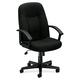 Basyx VL601VA10 VL601 Executive High-Back Swivel & Tilt Office Chair (Black)