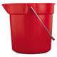 Rubbermaid 2963RED BRUTE 10 Quart Round Utility Pail (Red)