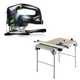 Festool C5495315 Carvex D-Handle Jigsaw plus Multi-Function Work Table