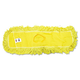 Rubbermaid J15300YEL 24 in. Trapper Commercial Looped-End Launderable Dust Mop (Yellow)