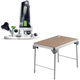 Festool C19500608 Modular Trim Router plus MFT/3 Basic  Multi-Function Work Table