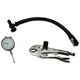 Central Tools 3D103 1 in. Dial Indicator with Lock Pliers