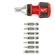 Milwaukee 48-22-2320 Compact 1-1/2 in. 8-in-1 Ratchet Multi Bit Driver