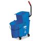 Rubbermaid 758888BLU WaveBrake 8-3/4 Gallon Side-Press Wringer/Bucket Combo (Blue)